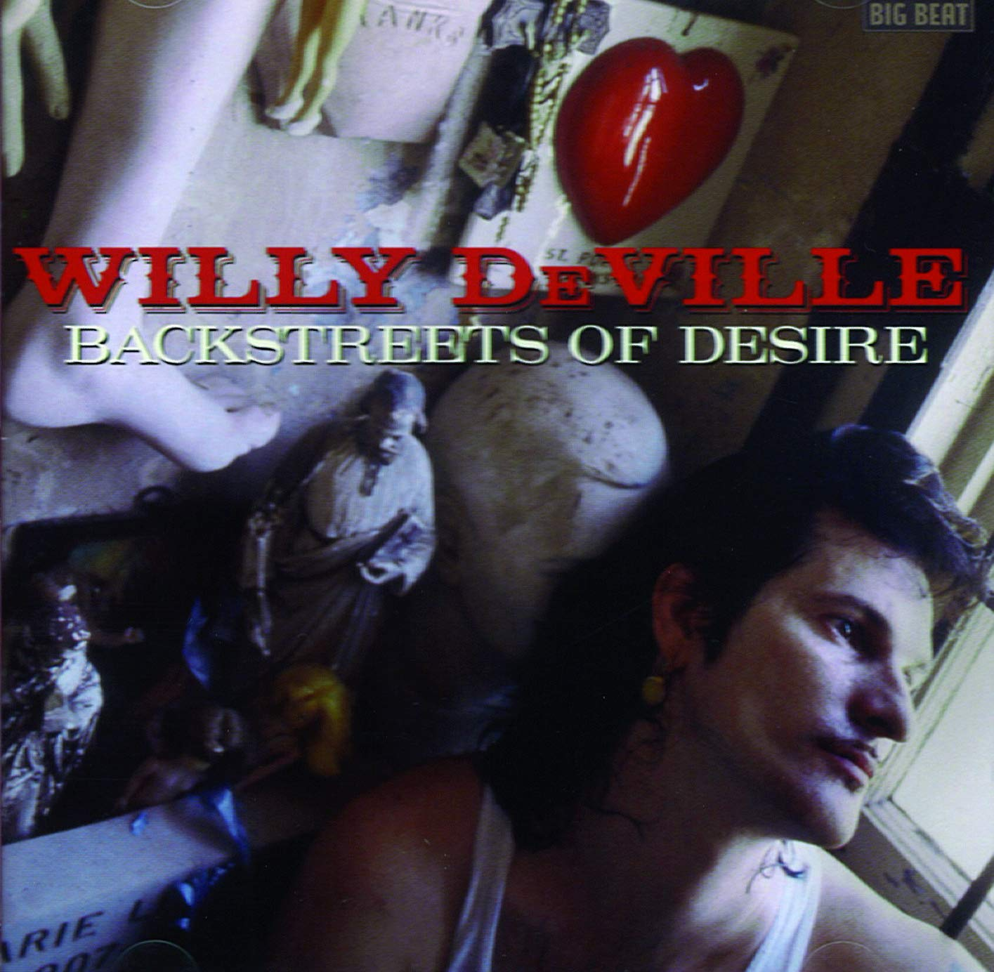 Willy DeVille - Backstreets Of Desire (1992) [FLAC] Download
