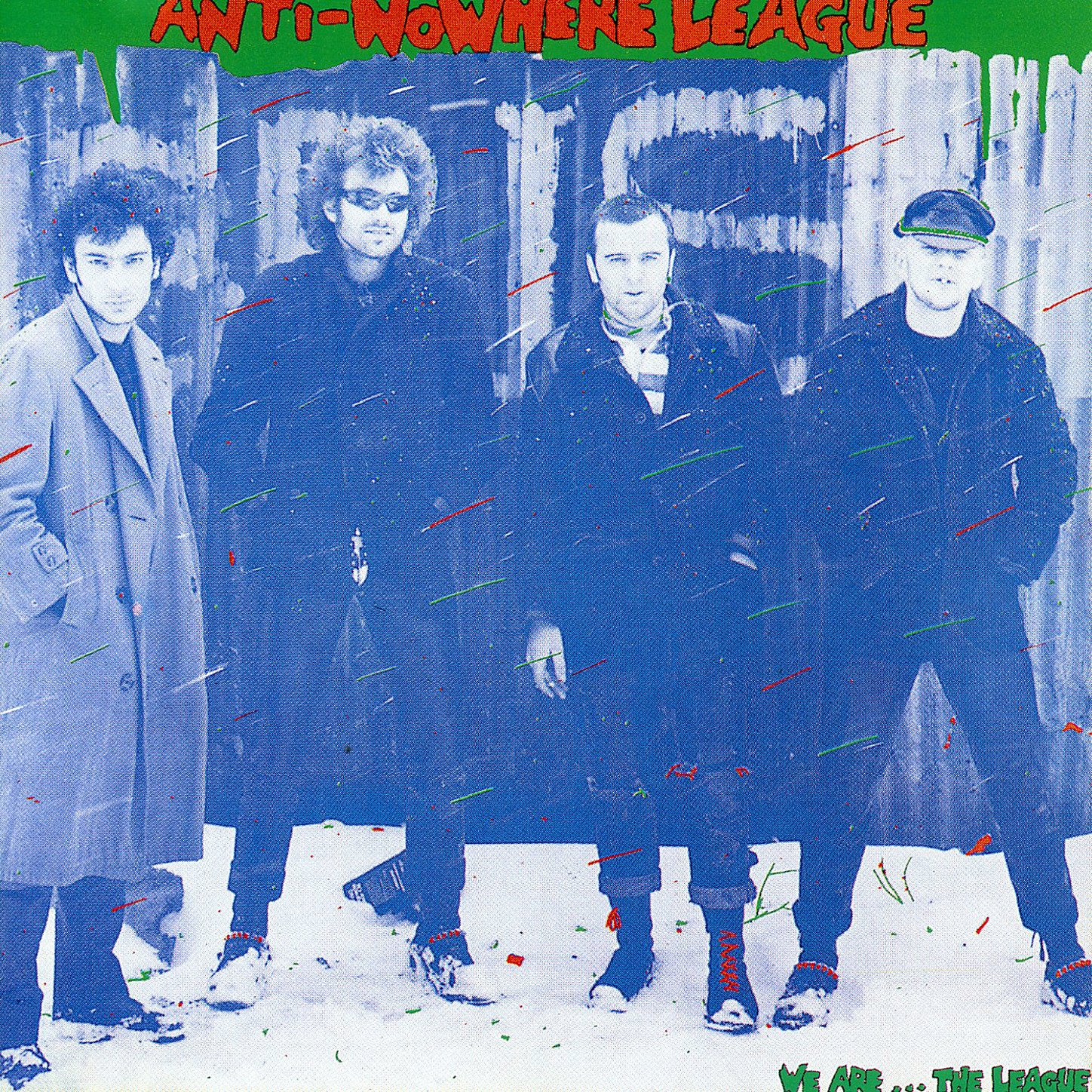 Anti Nowhere League – We Are The League (1992) [FLAC]