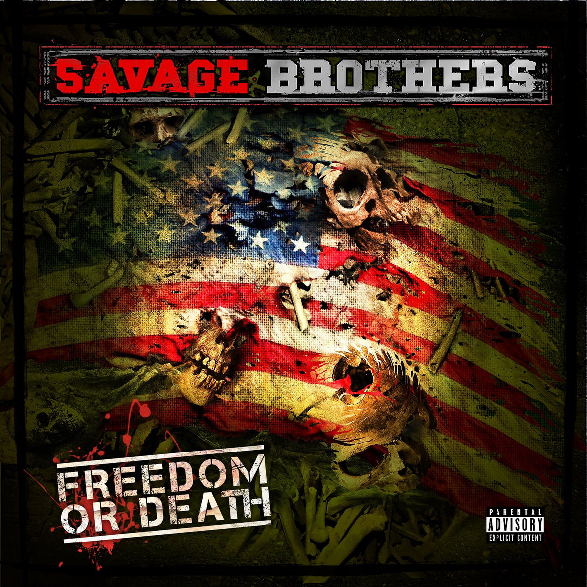 Savage Brothers - Freedom Or Death (2015) [FLAC] Download