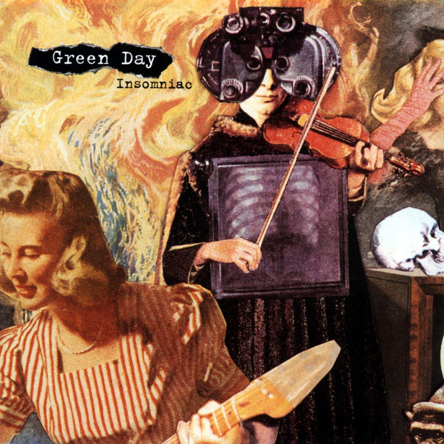 Green Day – Insomniac (1995) [FLAC]