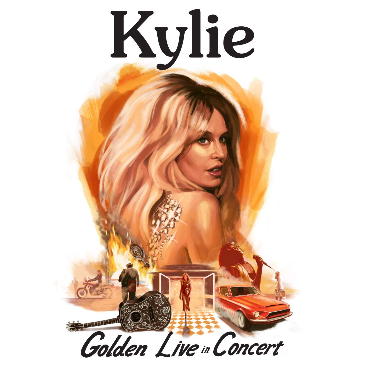 Kylie Minogue<br>Kylie – Golden Live In Concert (2019) [FLAC]