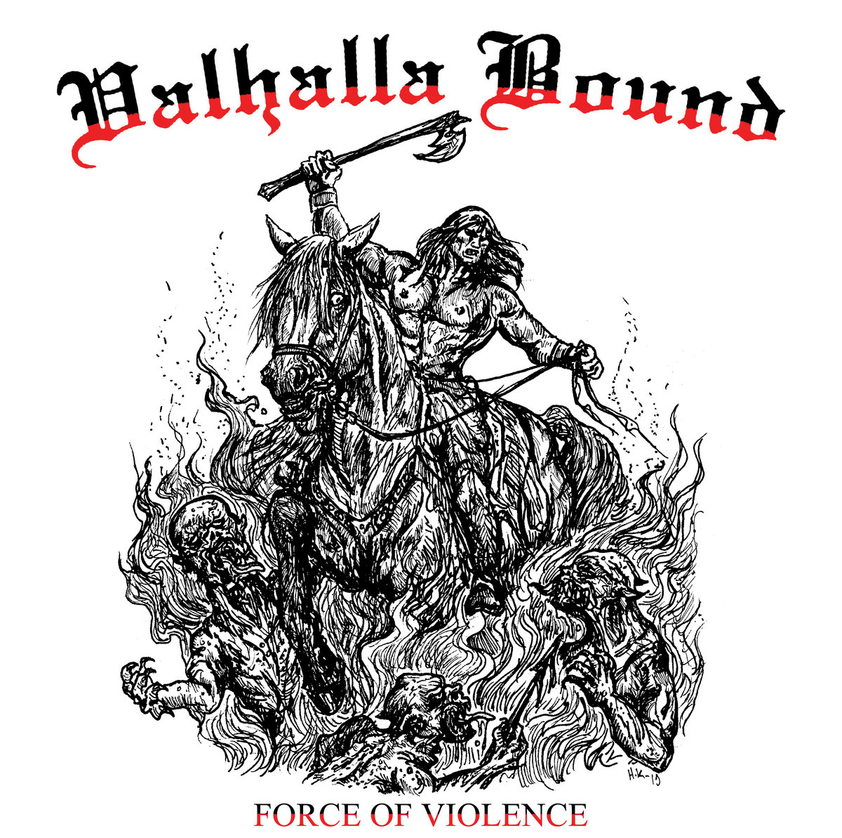 Valhalla Bound - Force of Violence (2020) [FLAC] Download