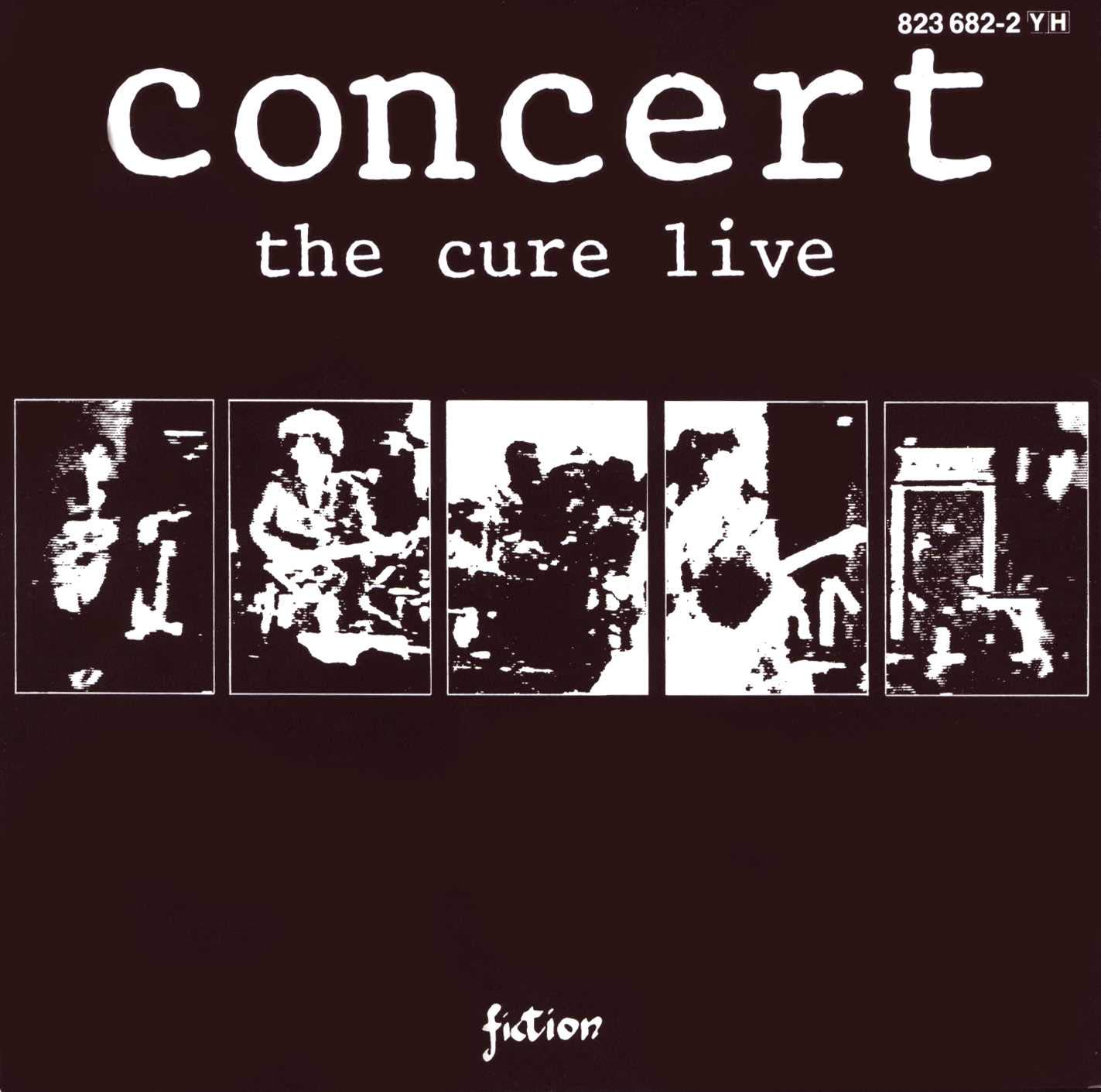 The Cure – Concert The Cure Live (1984) [FLAC]