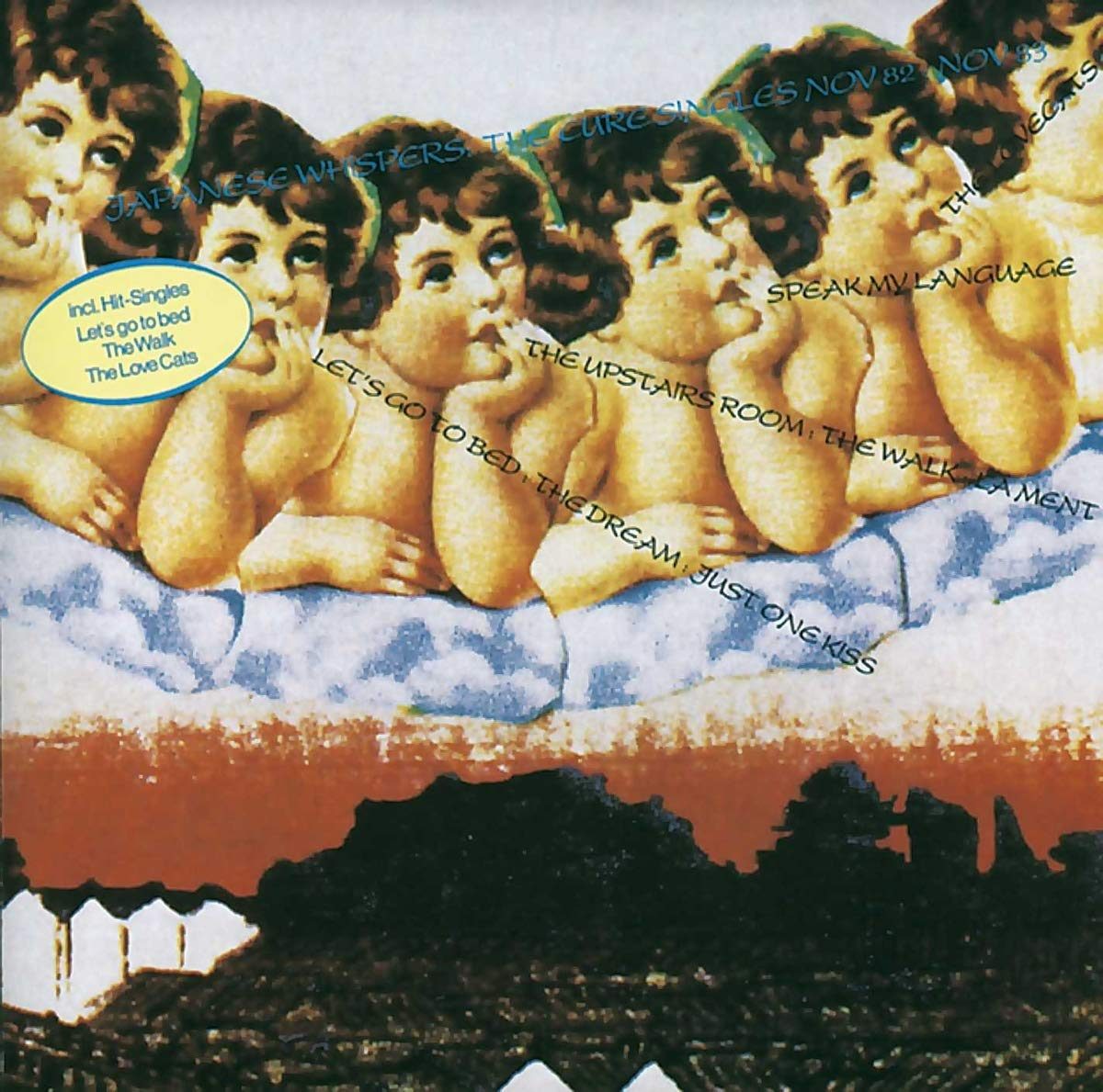 The Cure – Japanese Whispers (1983) [FLAC]