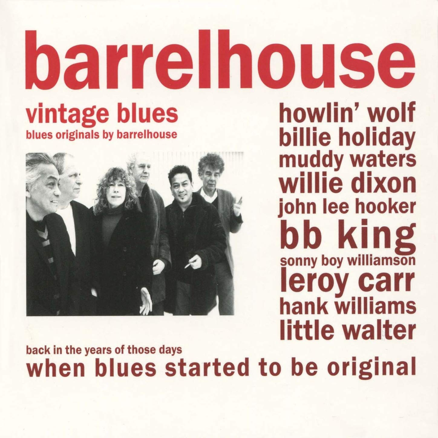 Barrelhouse-Vintage Blues-CD-FLAC-2010-6DM