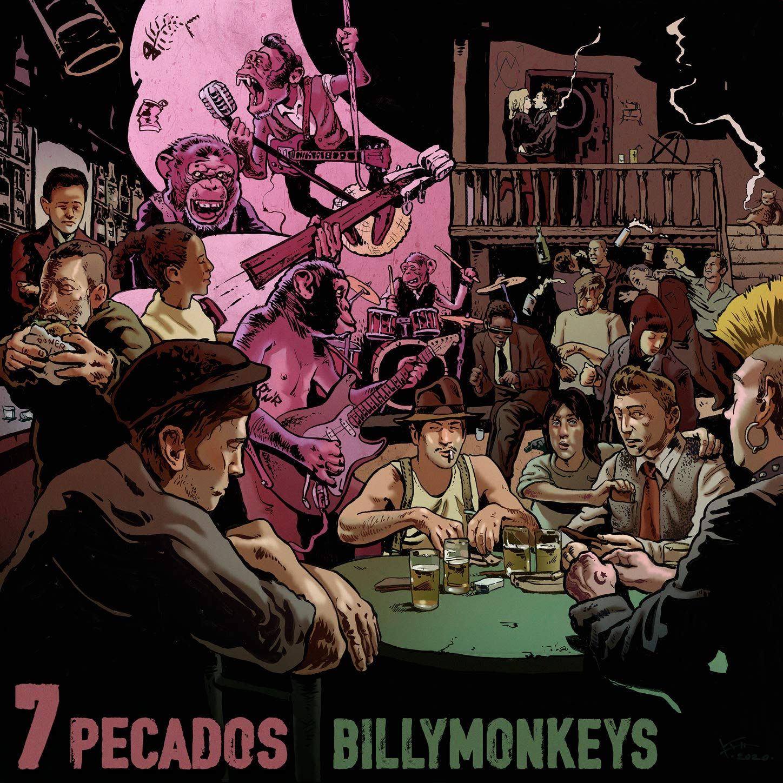 Billymonkeys - 7 Pecados (2020) [FLAC] Download
