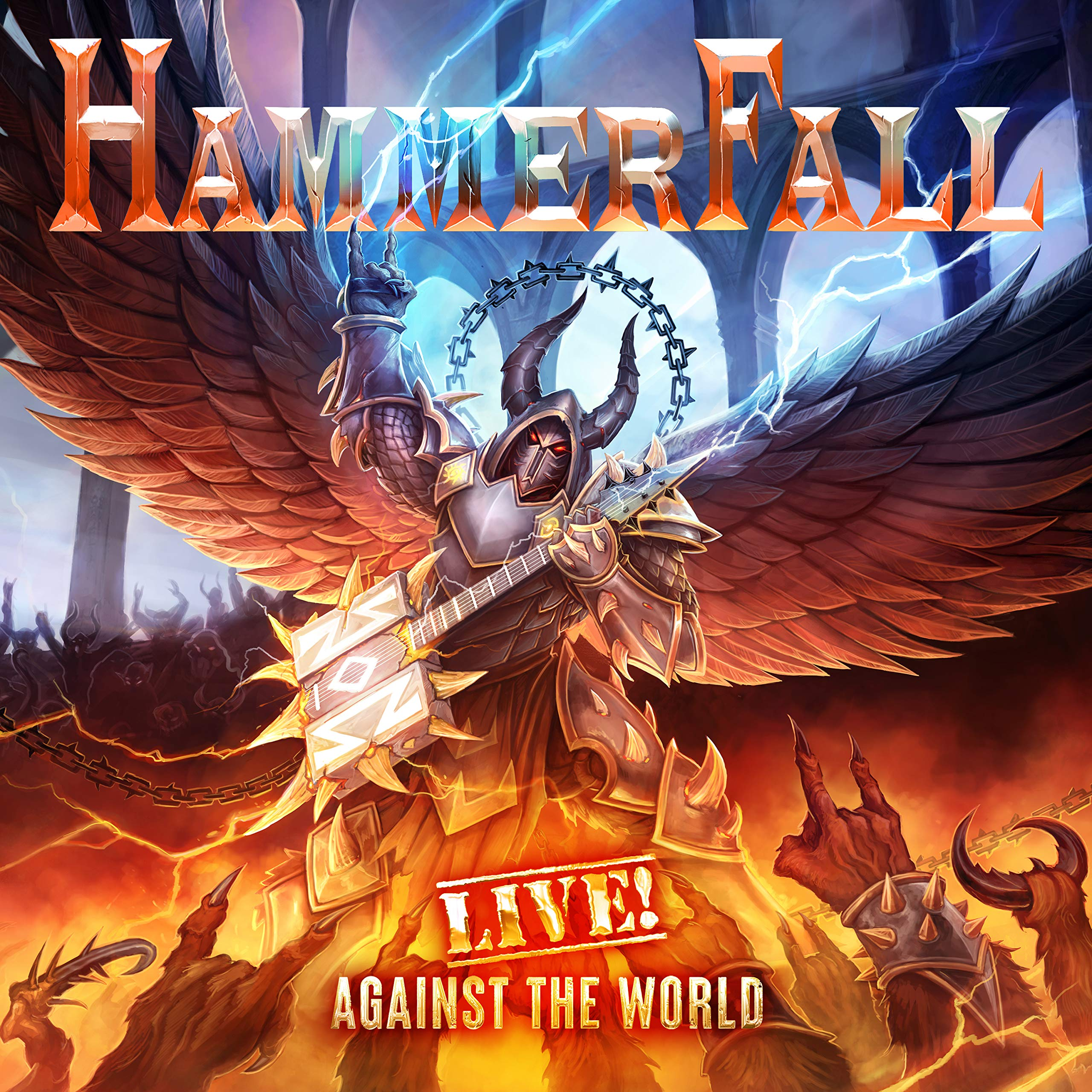 Hammerfall - Live Against The World (2020) [FLAC] Download