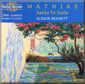 Elinor Bennett – Mathias: Santa Fe Suite & Other 20th Century Harp Classics (1995) [FLAC]