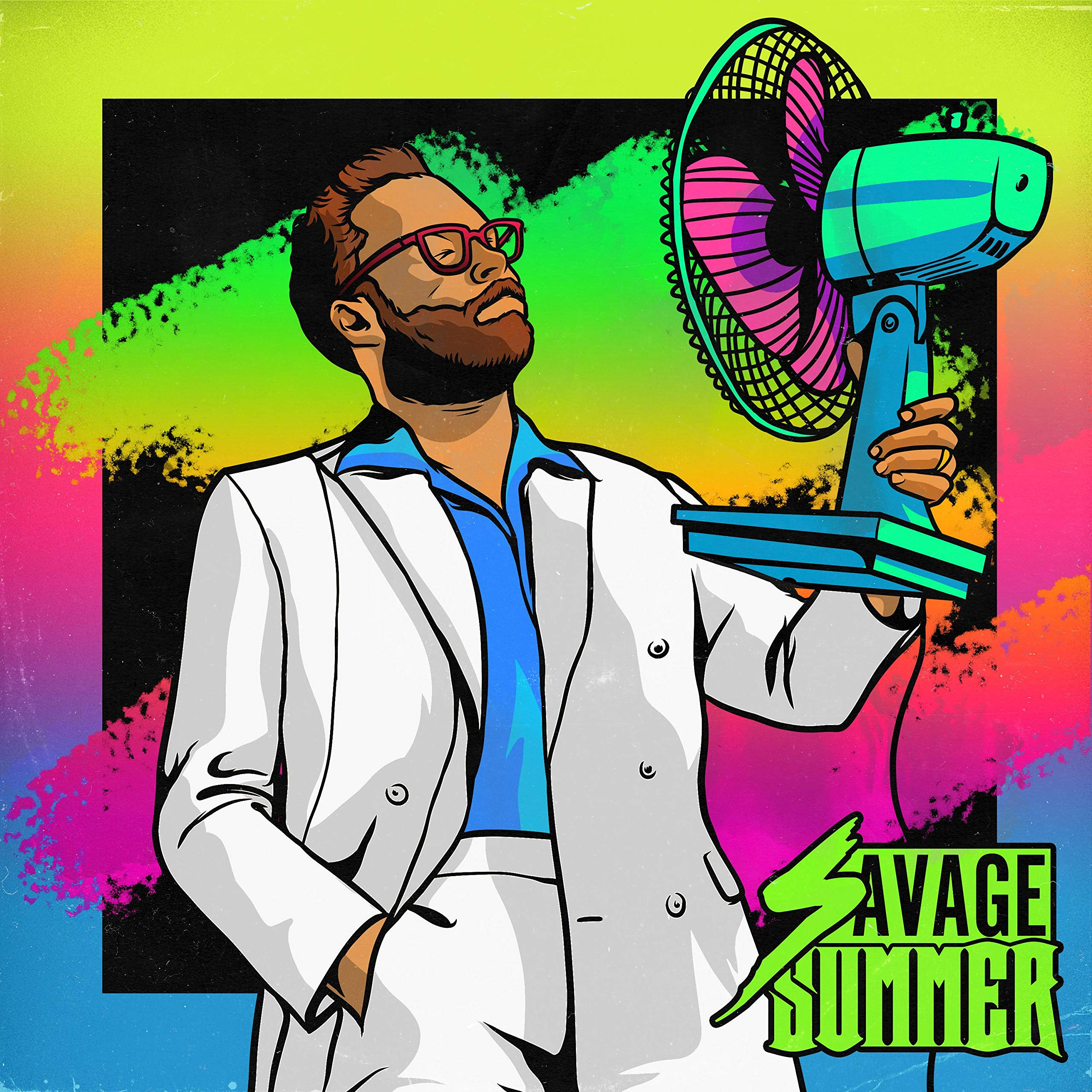 Robots With Rayguns – Savage Summer (2020) [FLAC]