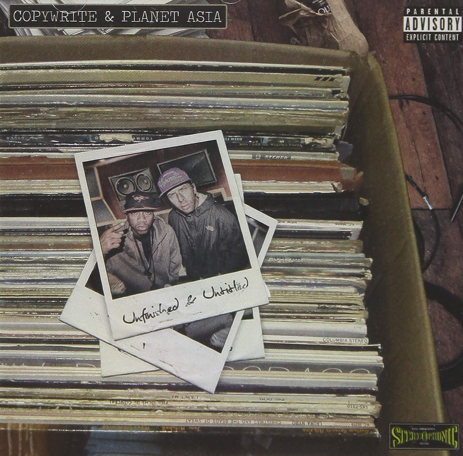 Copywrite & Planet Asia - Unfinished & Untitled (2018) [FLAC] Download