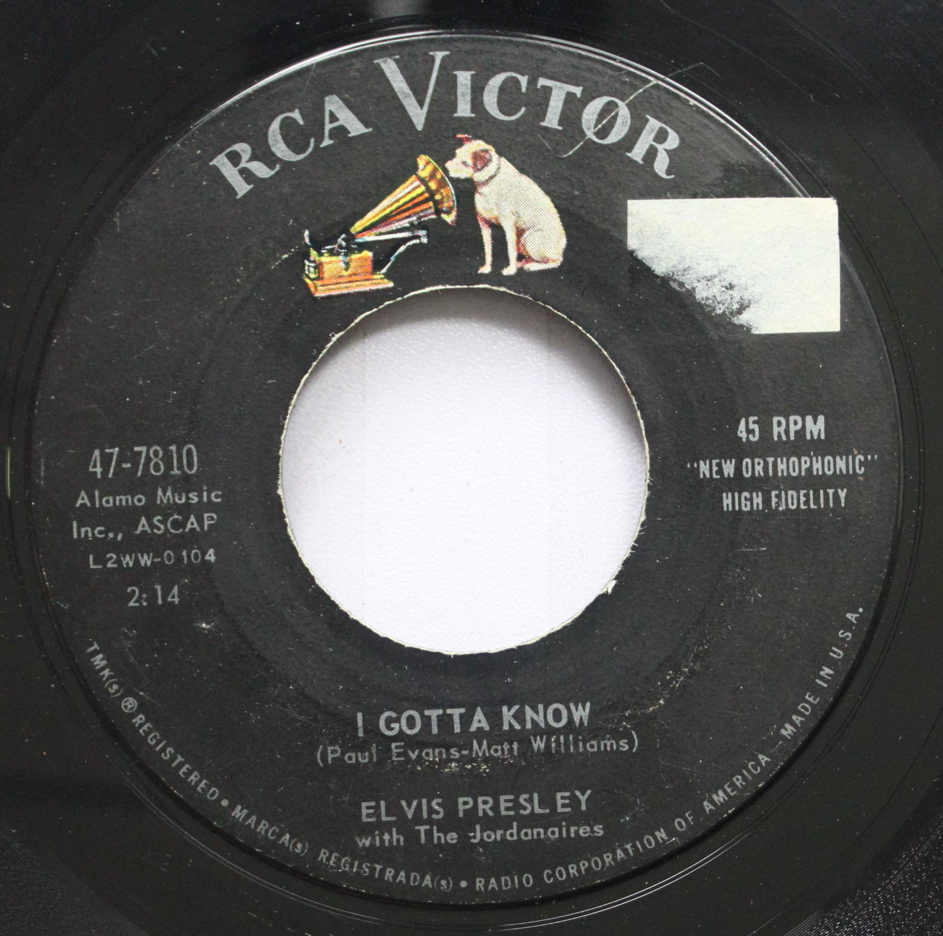 Elvis Presley - Are You Lonesome To-Night  I Gotta Know (1960) [FLAC] Download