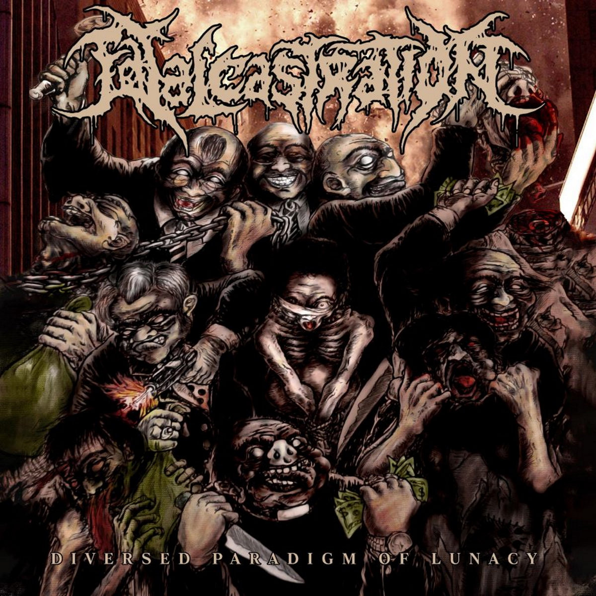 Fatal Castration - Diversed Paradigm of Lunacy (2020) [FLAC] Download
