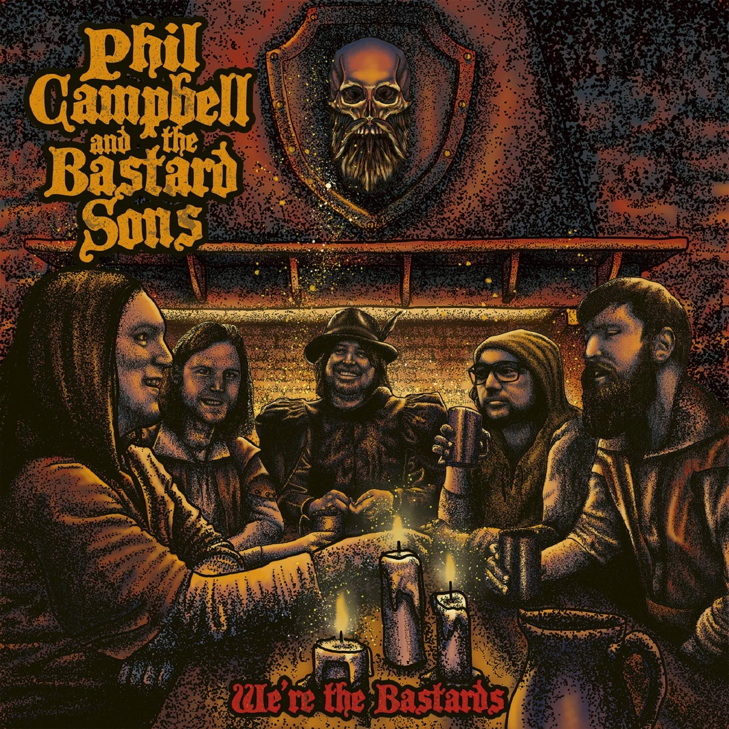 Phil Campbell And The Bastard Sons - We're The Bastards (2020) [FLAC] Download