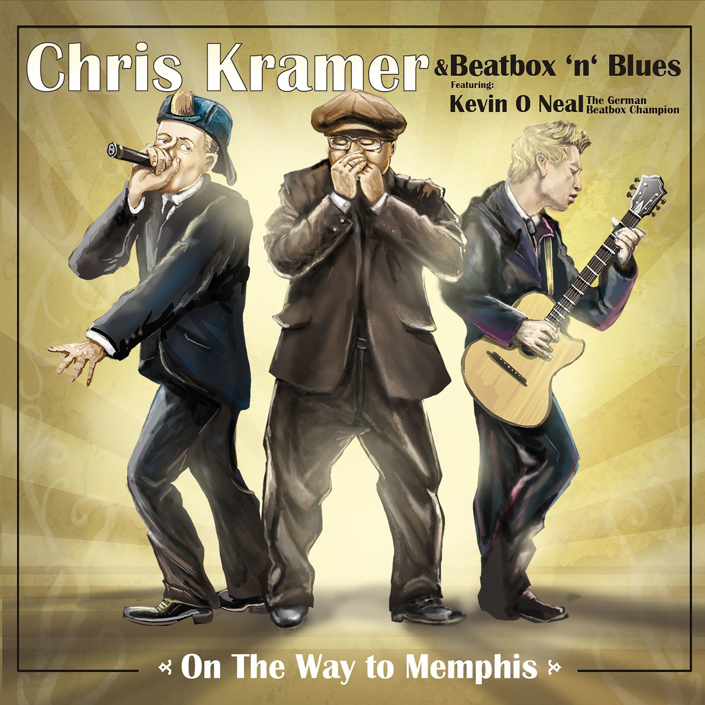 Chris Kramer & Beatbox 'n' Blues - On The Way to Memphis (2017) [FLAC] Download