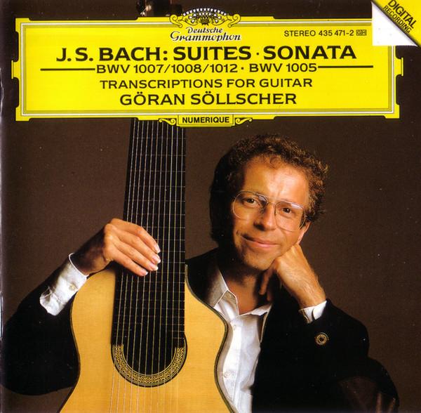 Goran Sollscher – J.S. Bach Suites Sonata: Transcriptions For Guitar (1992) [FLAC]