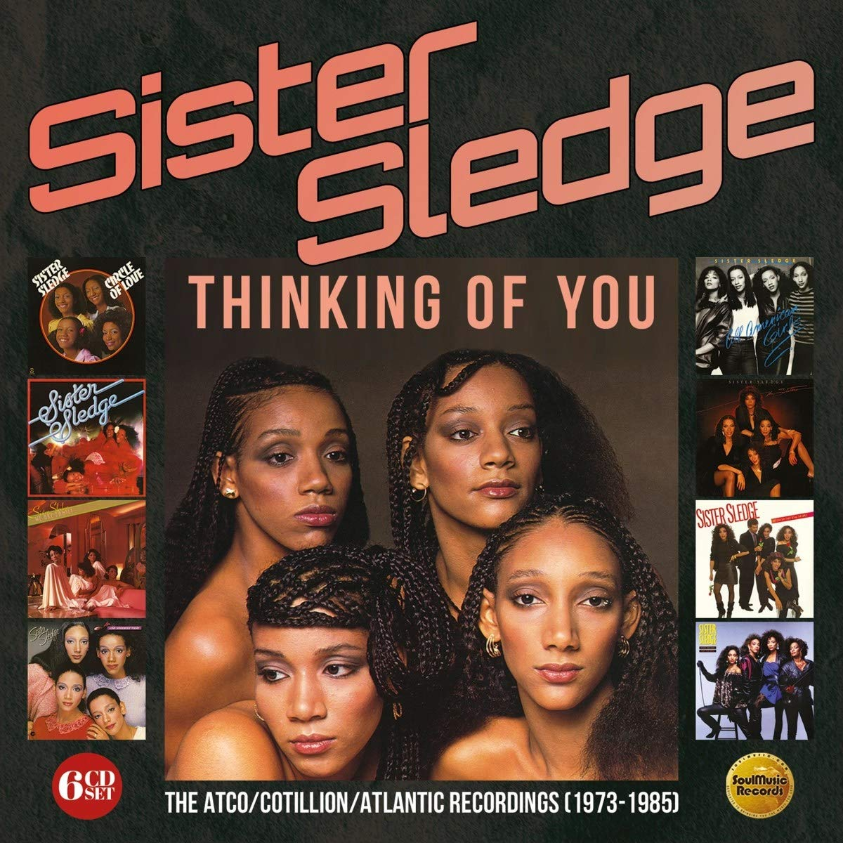 Sister Sledge – Thinking Of You  The ATCO/Cotillion/Atlantic Recordings (1973-1985) (2020) [FLAC]