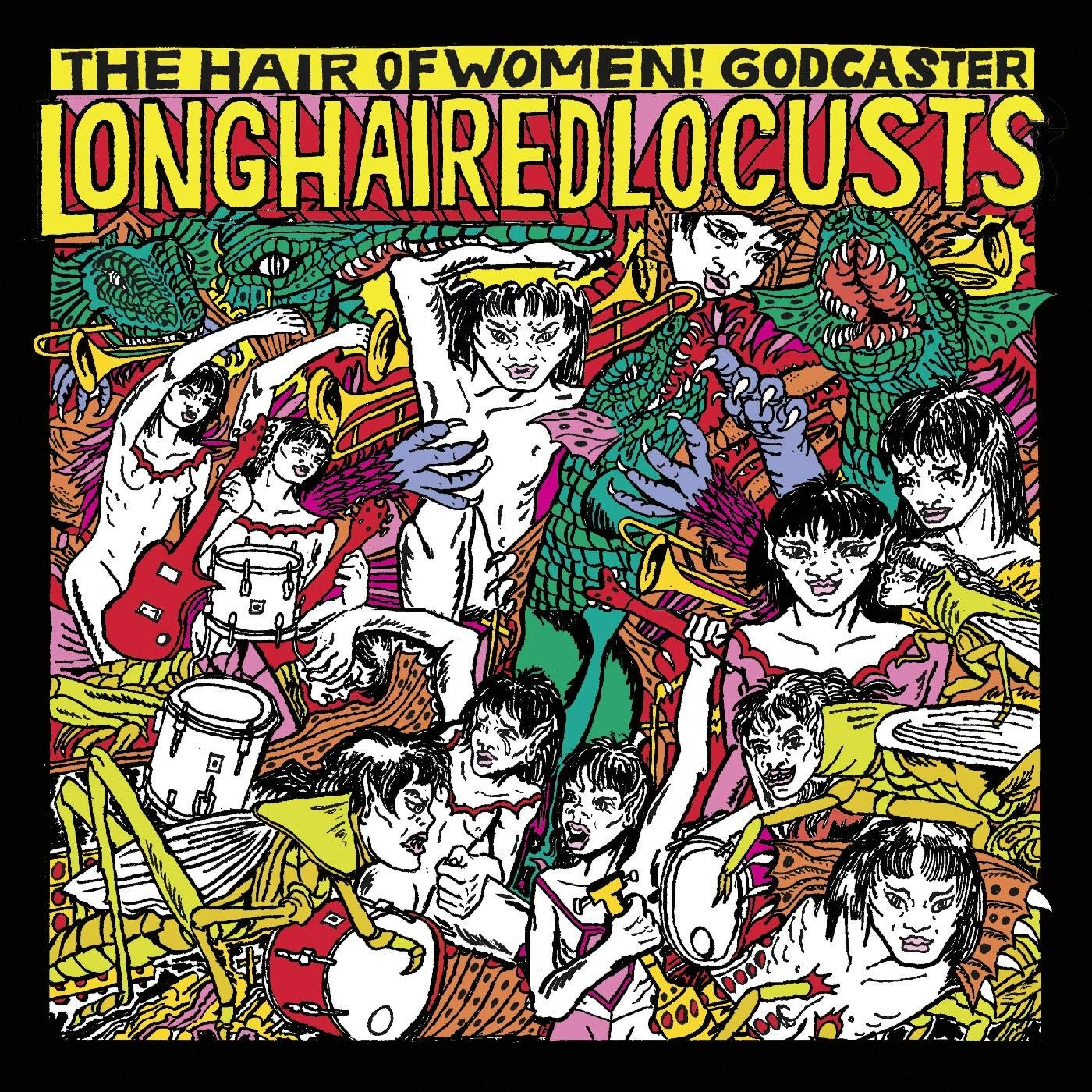 Godcaster – Long Haired Locusts (2020) [FLAC]