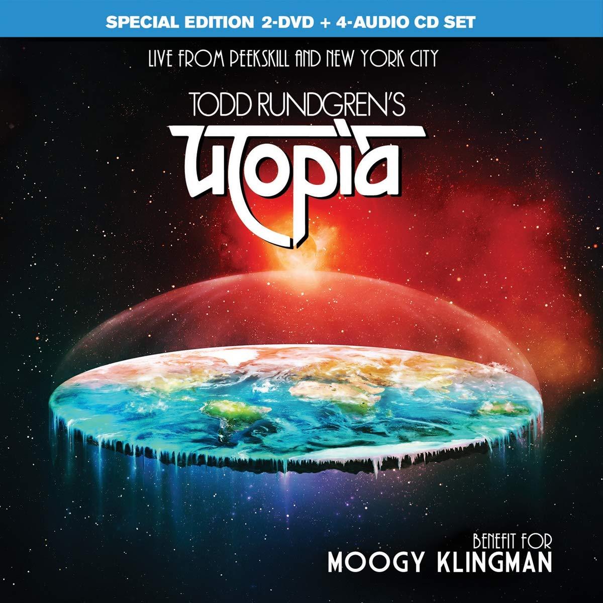 Todd Rundgren's Utopia – Benefit For Moogy Klingman (2020) [FLAC]