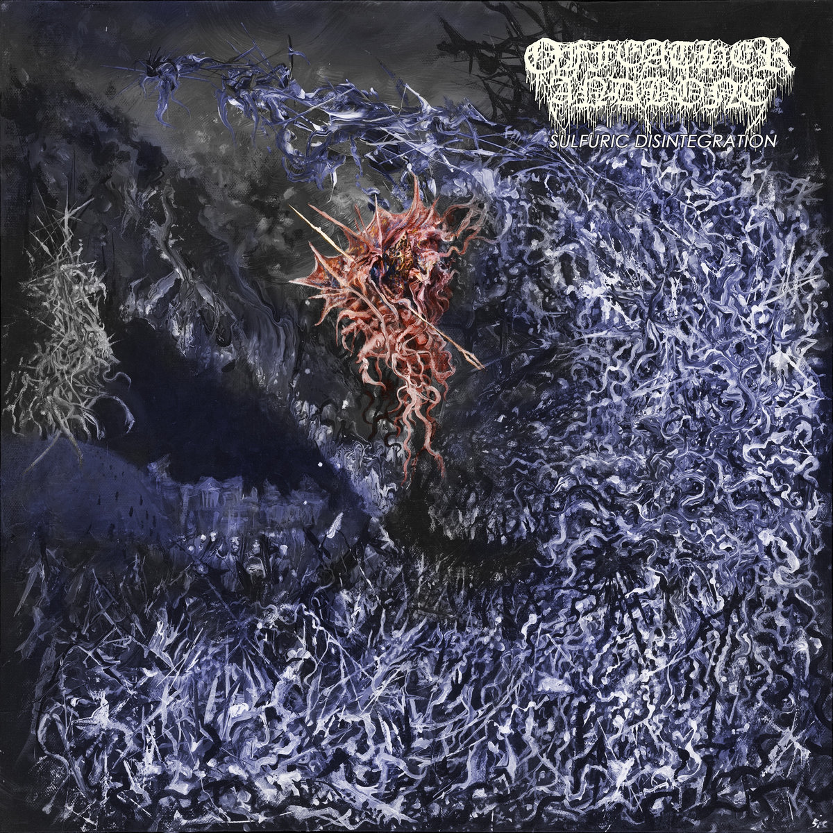 Of Feather And Bone – Sulfuric Disintegration (2020) [FLAC]