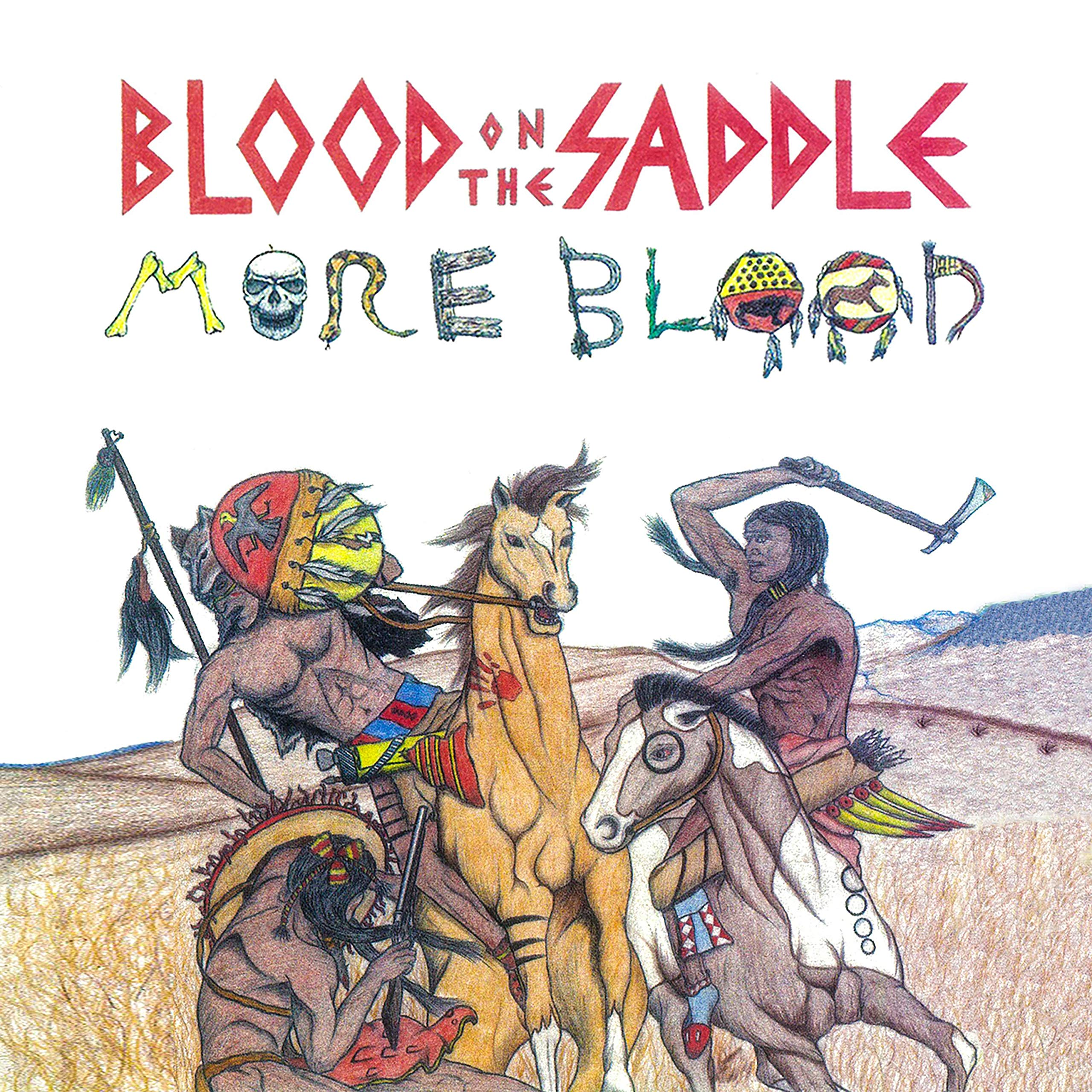 Blood On The Saddle – More Blood (1993) [FLAC]