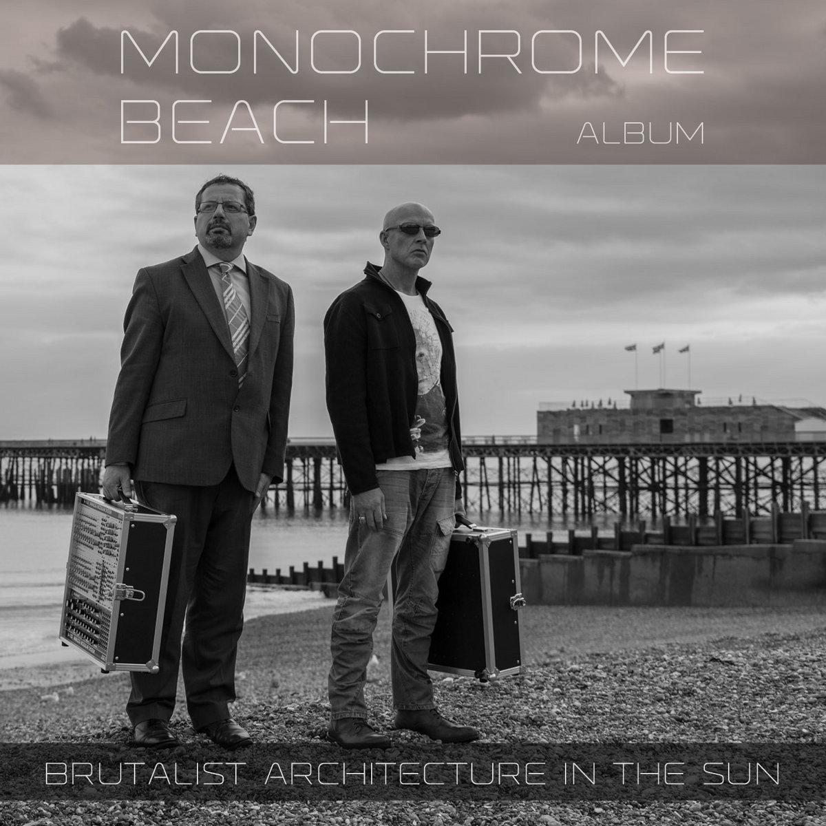 Brutalist Architecture In The Sun – Monochrome Beach (2019) [FLAC]