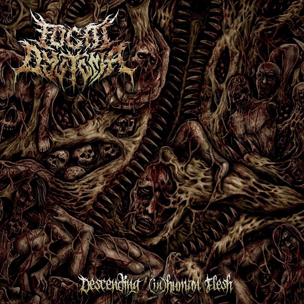 Focal Dystonia – Descending (In)Human Flesh (2020) [FLAC]