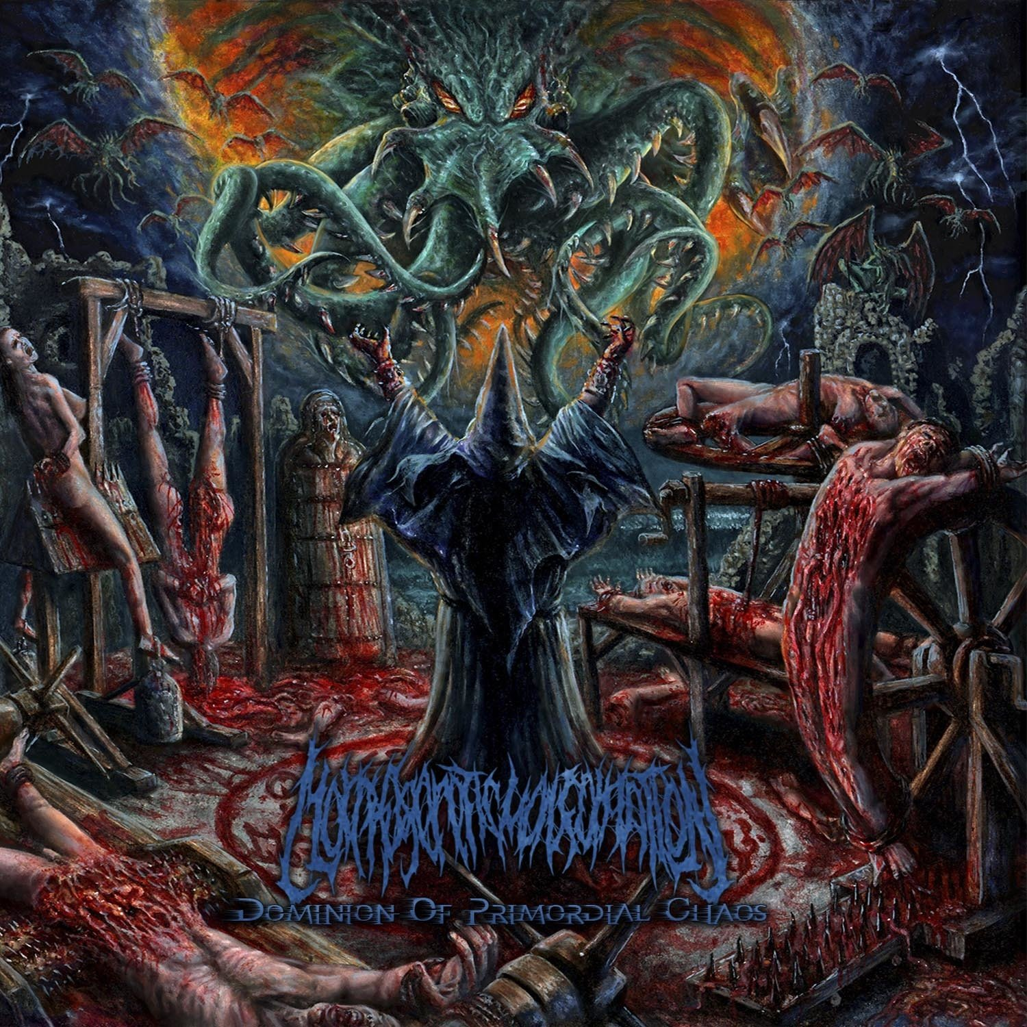Morphogenetic Malformation – Dominion of Primordial Chaos (2020) [FLAC]