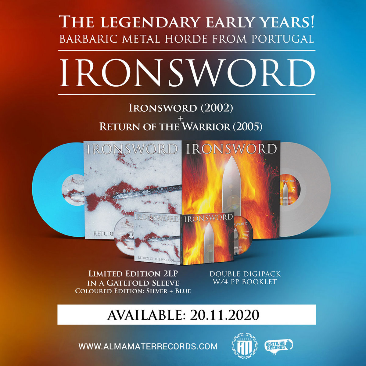 Ironsword – Ironsword / Return of the Warrior (2020) [FLAC]