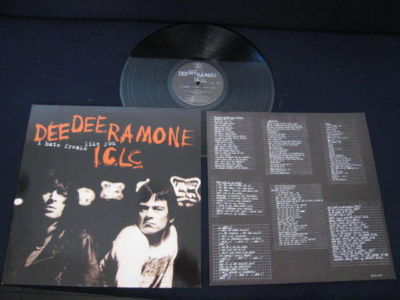 Dee Dee Ramone I.C.L.C. - I Hate Freaks Like You (1994) [FLAC] Download