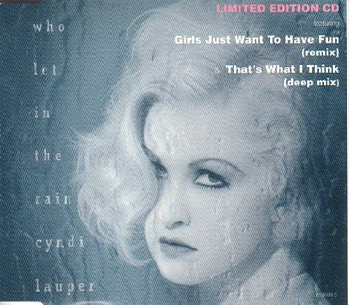 Cyndi Lauper - Who Let In The Rain (1993) [FLAC] Download