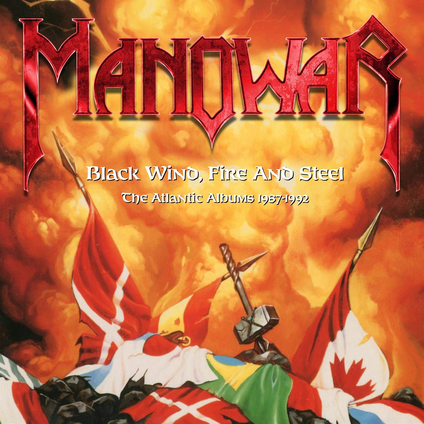 Manowar - Black Wind, Fire And Steel  The Atlantic Albums 1987-1992 (2020) [FLAC] Download