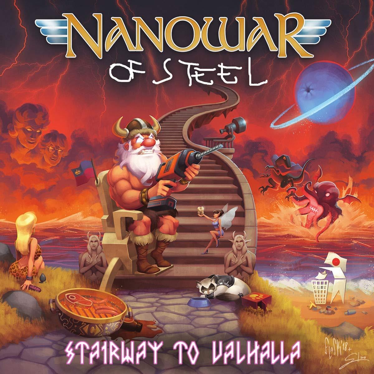 Nanowar Of Steel – Stairway To Valhalla (2020) [FLAC]