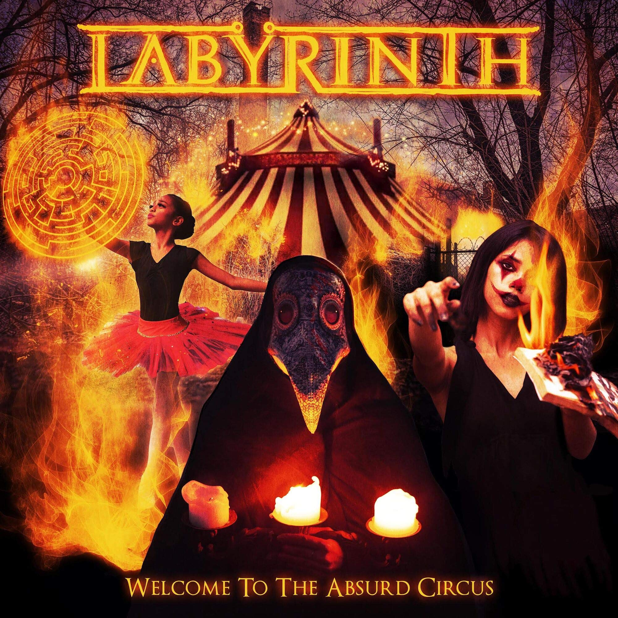 Labyrinth – Welcome to the Absurd Circus (2021) [FLAC]