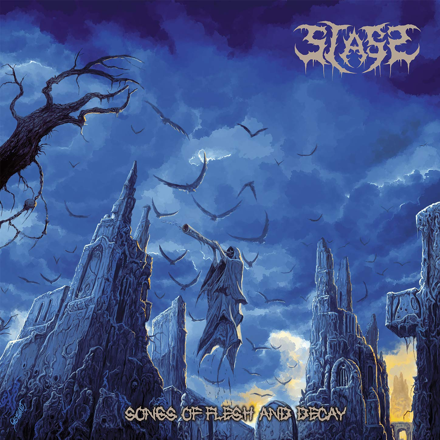 Stass - Songs of Flesh and Decay (2021) [FLAC] Download