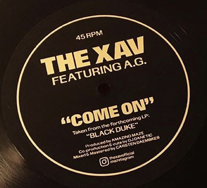 The Xav Featuring A.G. - Come On (2020) [FLAC] Download