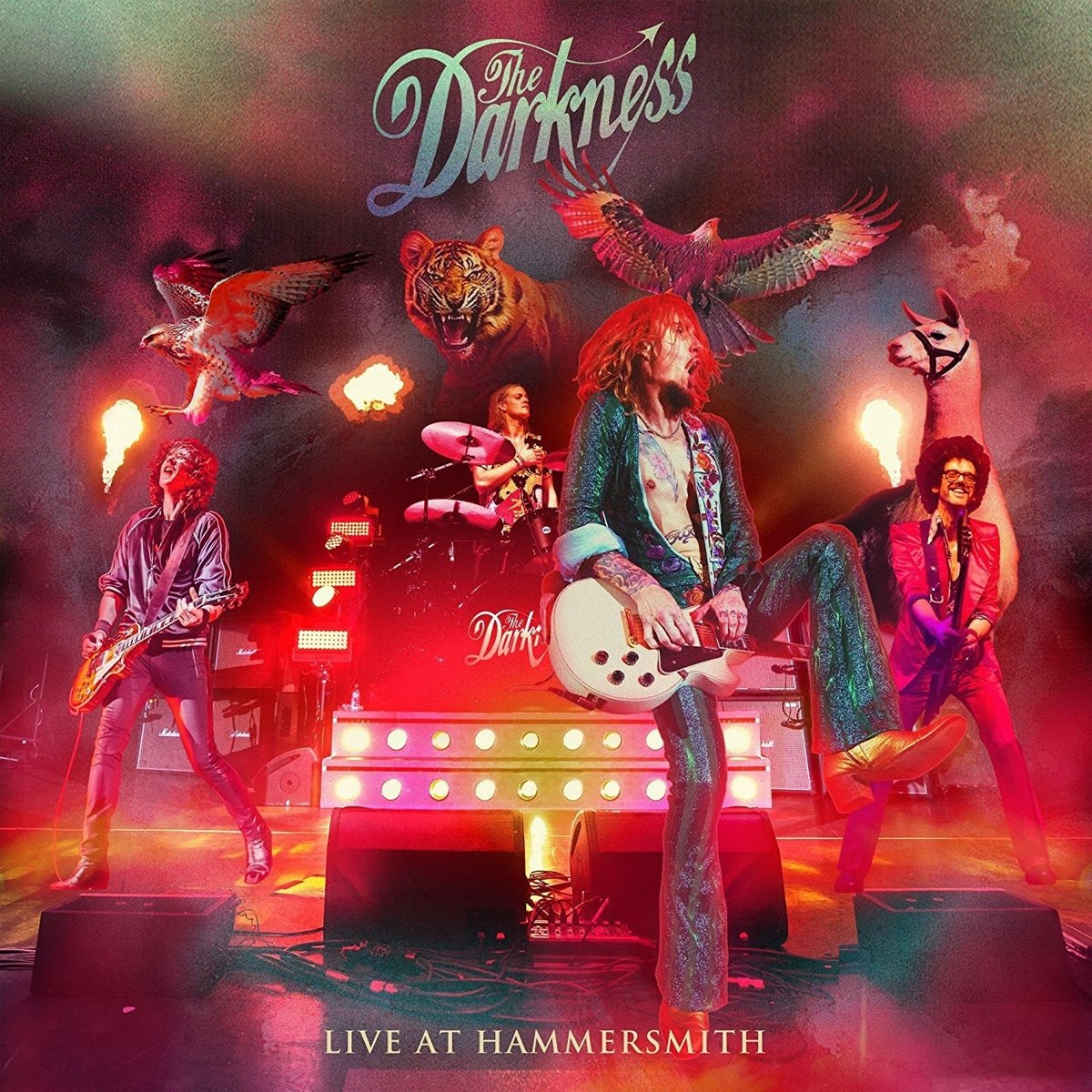The Darkness – Live At Hammersmith (2018) [FLAC]