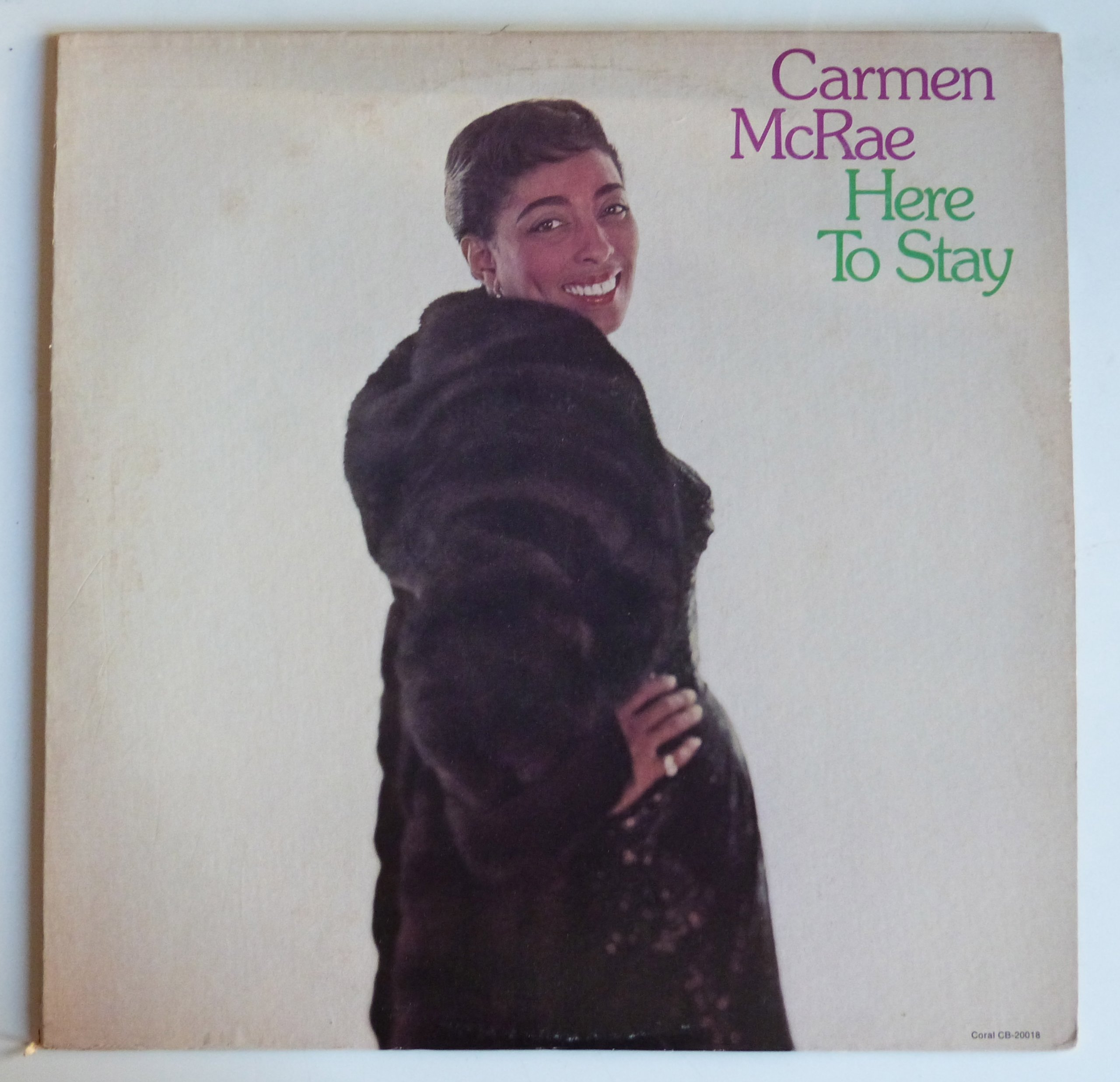 Carmen McRae – Here to Stay (1992) [FLAC]