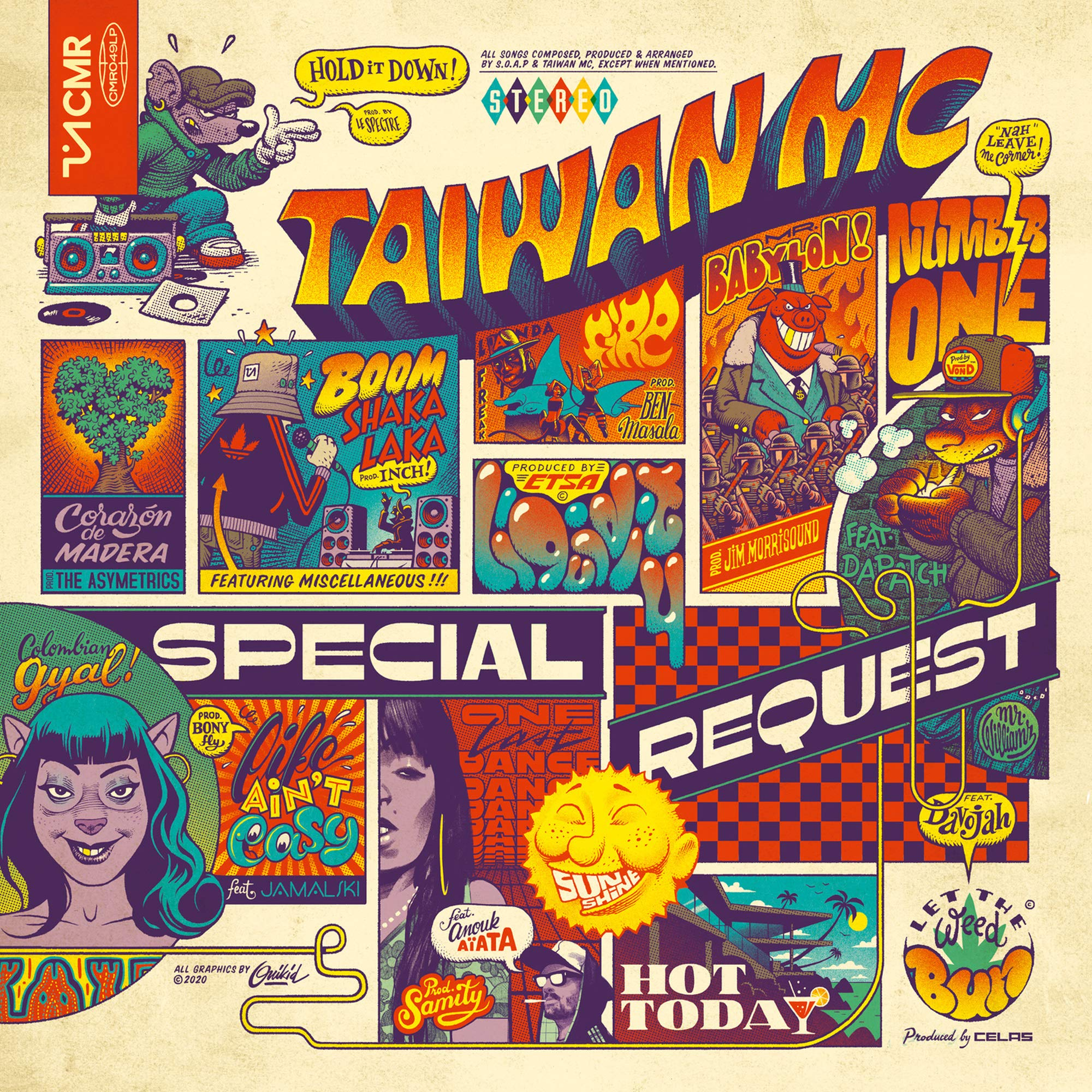 Taiwan MC – Special Request (2020) [FLAC]