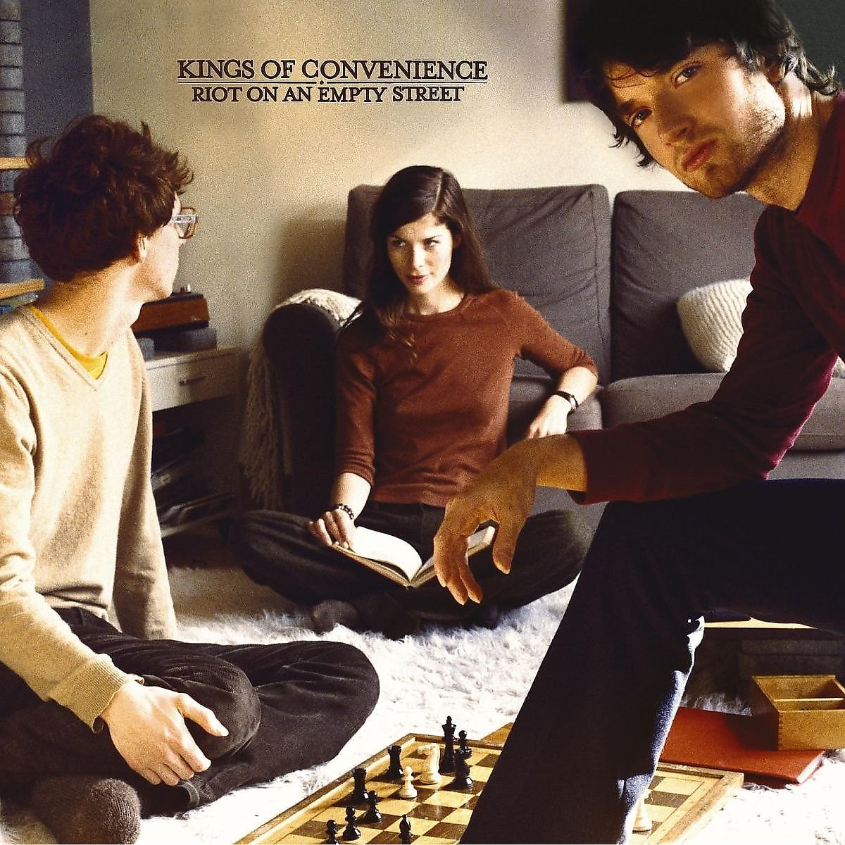 Kings Of Convenience – Riot On An Empty Street (2004) [FLAC]