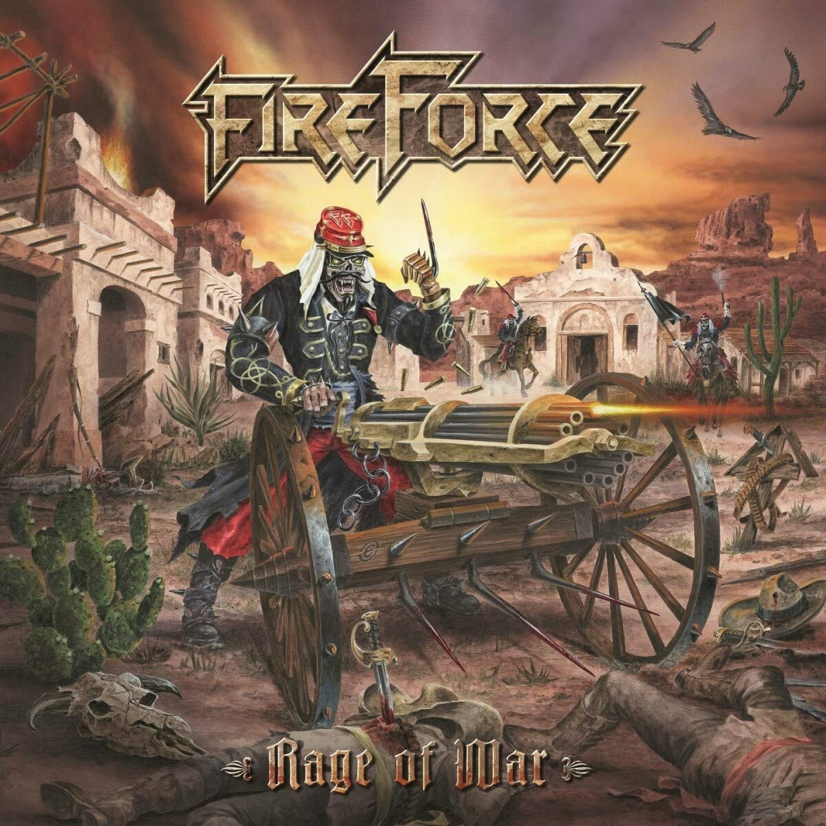 FireForce – Rage Of War (2021) [FLAC]