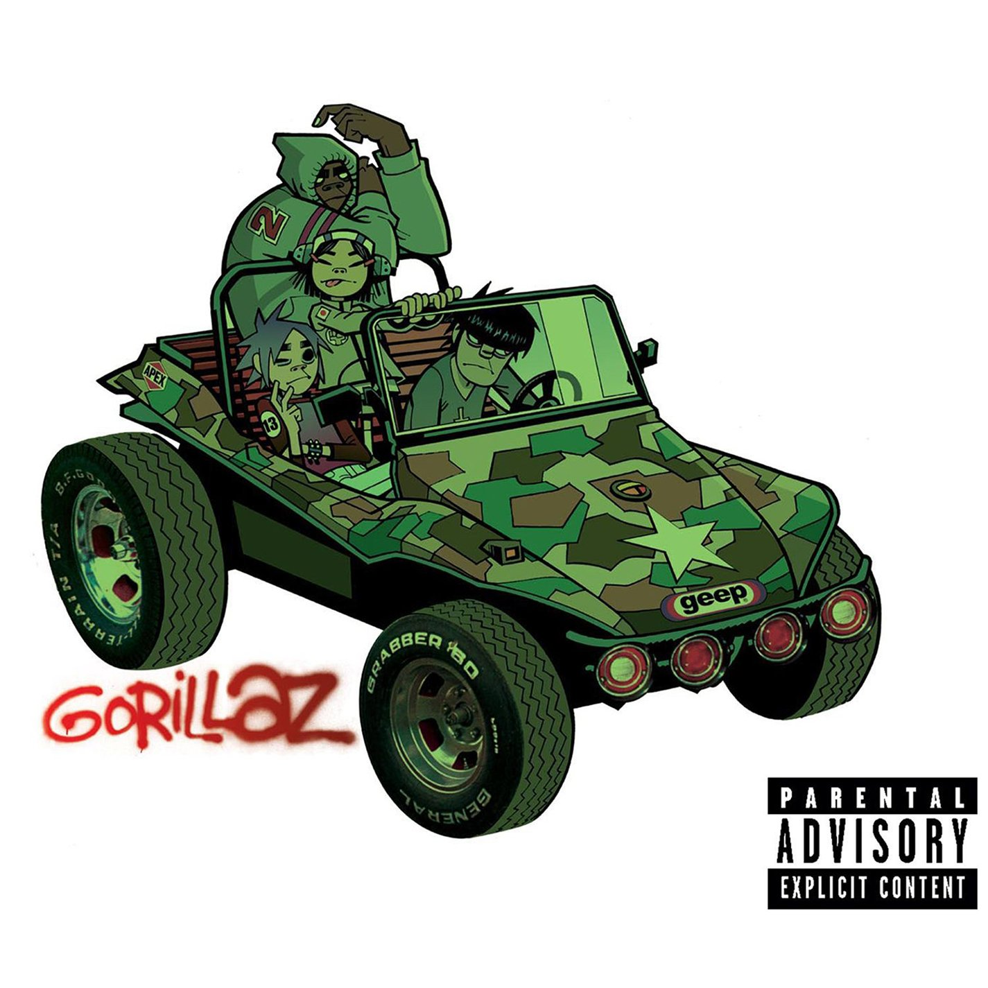 Gorillaz – Gorillaz (2015) [FLAC]