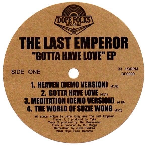 The Last Emperor – Gotta Have Love (2021) [FLAC]