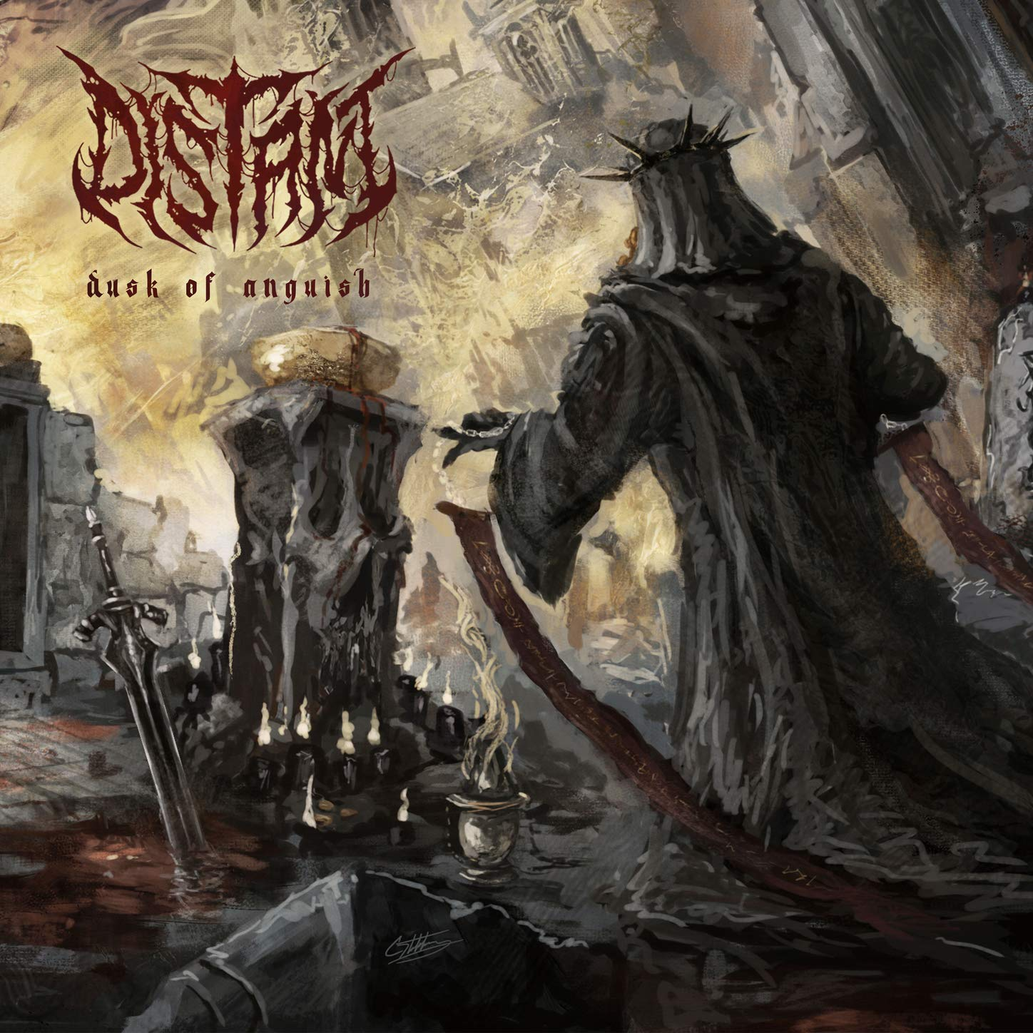 Distant – Dusk of Anguish (2021) [FLAC]