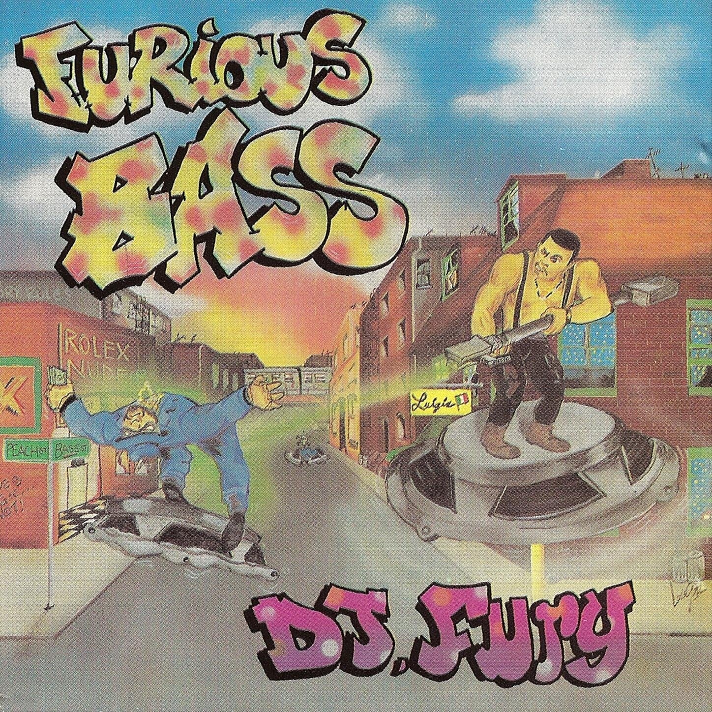 DJ Fury - Furious Bass (1992) [FLAC] Download