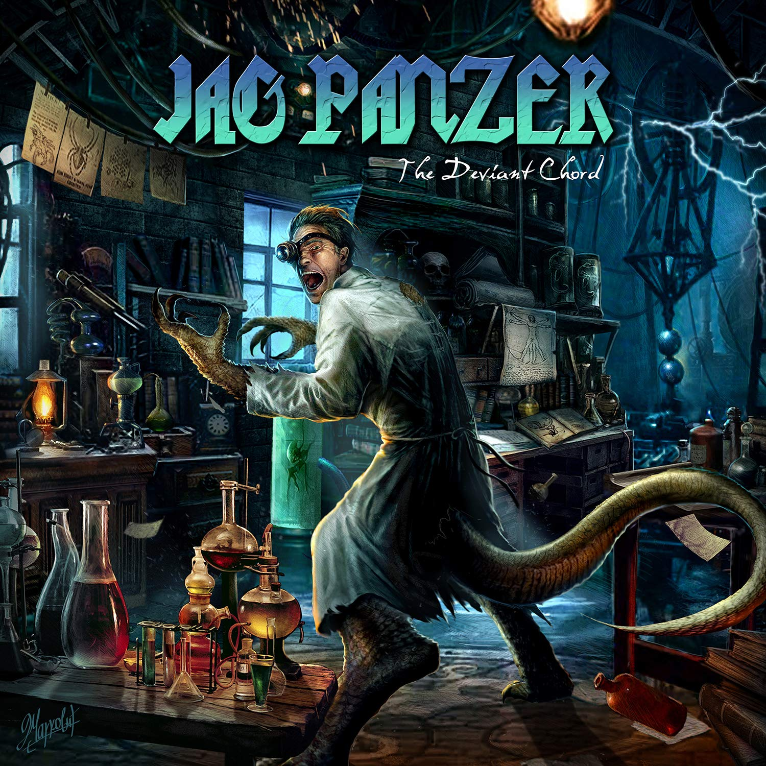 Jag Panzer - The Deviant Chord (2017) [FLAC] Download