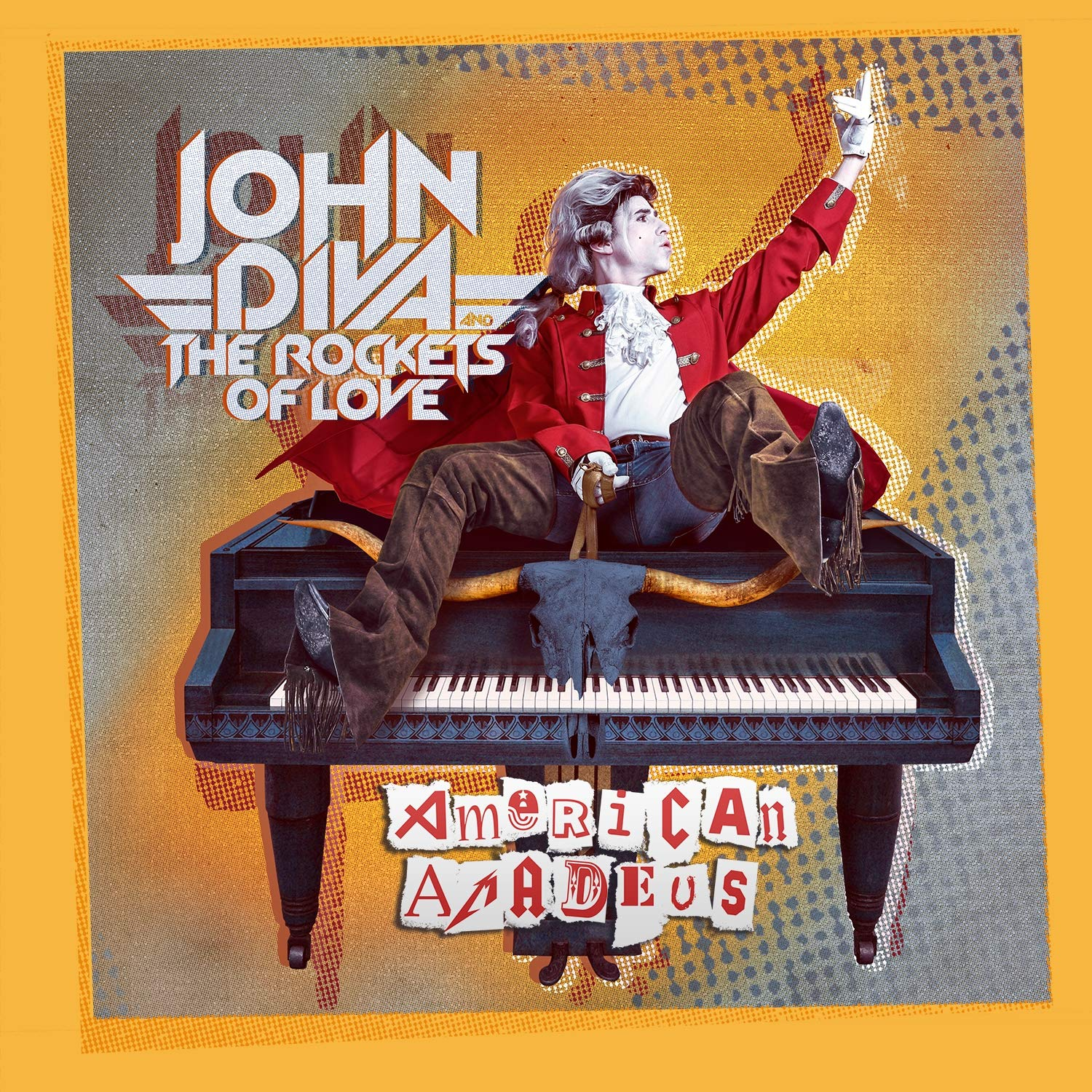 John Diva and The Rockets Of Love – American Amadeus (2021) [FLAC]