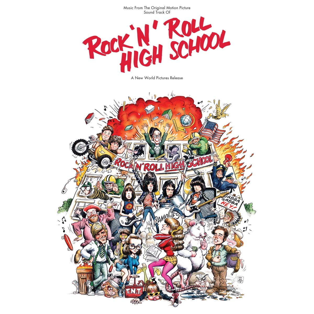 VA - Rock 'N' Roll High School (2001) [FLAC] Download