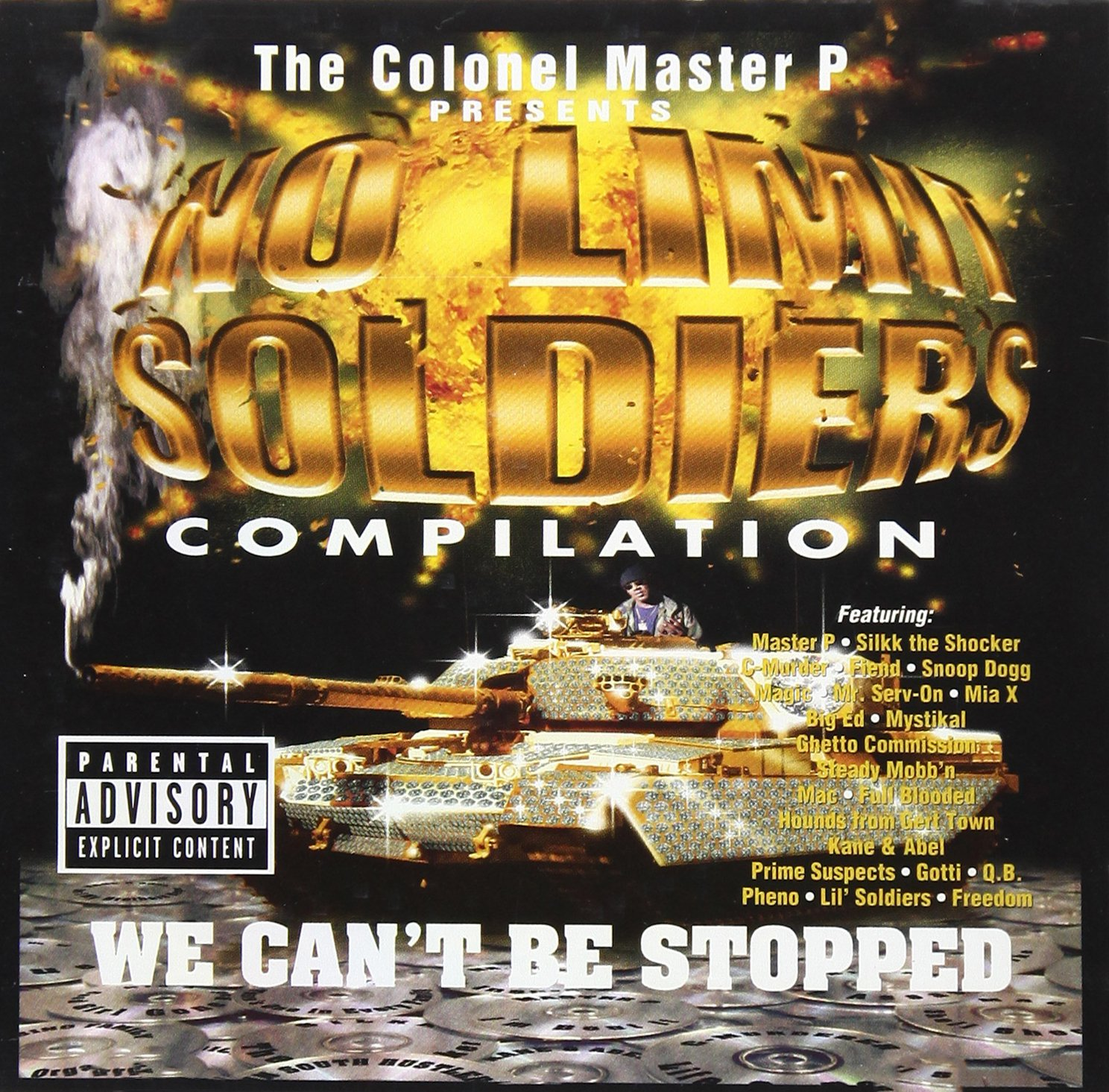 VA - No Limit Soldiers Compilation-We Can't Be Stopped (1998) [FLAC] Download