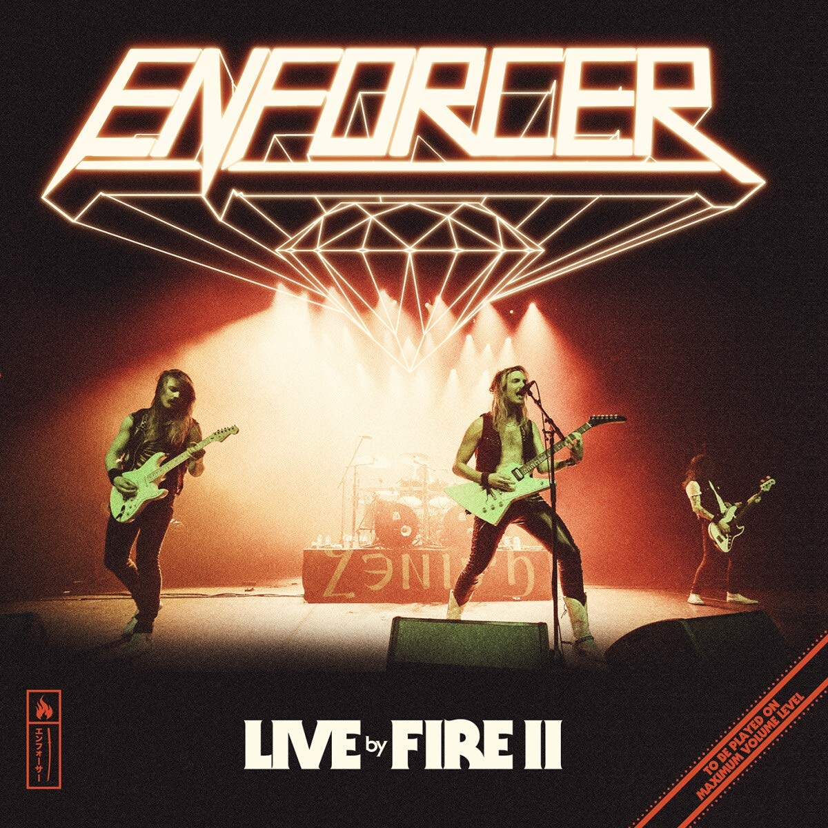 Enforcer - Live by Fire II (2021) [FLAC] Download
