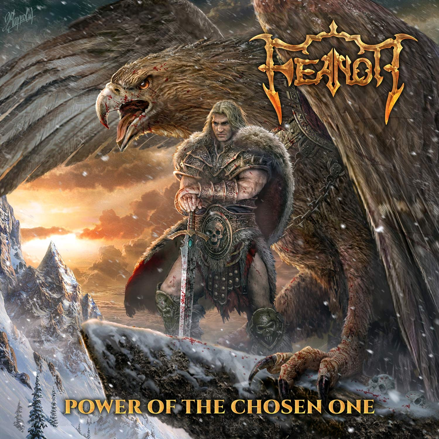 Feanor - Power Of The Chosen One (2021) [FLAC] Download